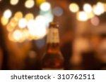 beer blur pub blurred image | Shutterstock . vector #310762511