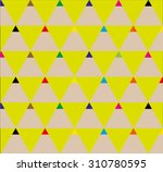 abstract geometric background... | Shutterstock .eps vector #310780595
