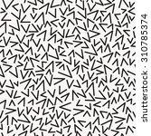 vector seamless pattern.... | Shutterstock .eps vector #310785374