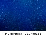 Abstract Fractal Blue...
