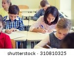 education  elementary school ... | Shutterstock . vector #310810325