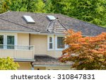 the top of the house with nice... | Shutterstock . vector #310847831
