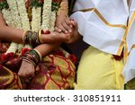 paani grahanam ritual during a... | Shutterstock . vector #310851911