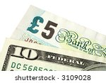 A Five Pound Note And A Ten...