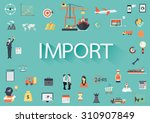 word import with involved set... | Shutterstock .eps vector #310907849