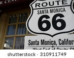 america santamonica american... | Shutterstock . vector #310911749