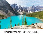 Beautiful Moraine Lake In Banf...