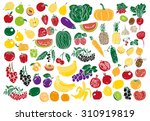 image on a white background... | Shutterstock .eps vector #310919819