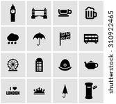 Vector Black London Icon Set O...