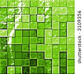 colorful modern mosaic tile in... | Shutterstock . vector #3109356