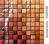 colorful modern mosaic tile in... | Shutterstock . vector #3109358