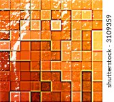 colorful modern mosaic tile in... | Shutterstock . vector #3109359