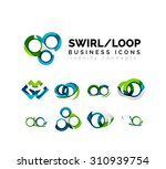set of infinity concepts  loop... | Shutterstock . vector #310939754