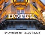 Illuminated Hotel Sign Taken I...