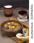 Small photo of Shchi - Russian traditional soup