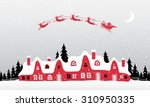 christmass background | Shutterstock .eps vector #310950335