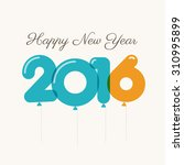 happy new year 2016 card ...