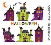 Halloween Haunted Houses...