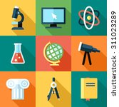vector collection of science... | Shutterstock .eps vector #311023289