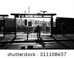 street photography of someone... | Shutterstock . vector #311108657