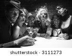 group of caucasian prime adult... | Shutterstock . vector #3111273