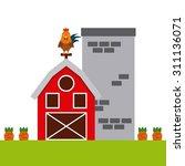 organic food design  vector... | Shutterstock .eps vector #311136071