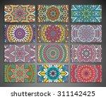 business card. vintage... | Shutterstock .eps vector #311142425