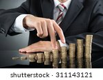 close up of businessman's... | Shutterstock . vector #311143121