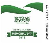 vector saudi arabia... | Shutterstock .eps vector #311156795