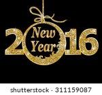 happy new year   | Shutterstock .eps vector #311159087