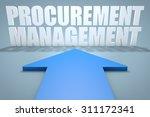 procurement management   3d...   Shutterstock . vector #311172341