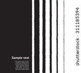 black and white striped... | Shutterstock .eps vector #311185394