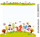 design elements for notebook ...   Shutterstock . vector #311188391