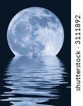 true full april moon  michigan  ... | Shutterstock . vector #3111892