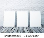 mock up posters frames in the... | Shutterstock . vector #311201354