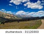 boreas pass outside of... | Shutterstock . vector #31120303