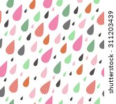 childish seamless pattern with...   Shutterstock .eps vector #311203439