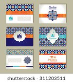 banners set of islamic. | Shutterstock .eps vector #311203511