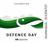 vector 6 september defence day... | Shutterstock .eps vector #311206727