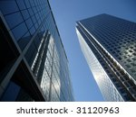 canary wharf office buildings | Shutterstock . vector #31120963