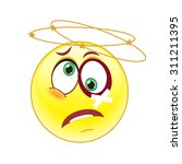 dizziness  hit on the head. | Shutterstock .eps vector #311211395
