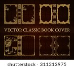 Vector Set Classical Book Cove...