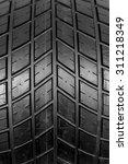 new tire textured | Shutterstock . vector #311218349