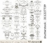 collection of vector... | Shutterstock .eps vector #311227739
