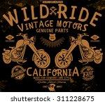 tee graphics wild ride vintage...