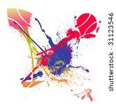 splash background   Shutterstock .eps vector #31123546