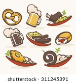 vector collection of... | Shutterstock .eps vector #311245391