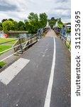 Small photo of Burton Upon Trent UK,03 August 2015, The Ferry Bridge.