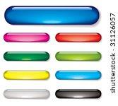 aqua gel web buttons with drop... | Shutterstock . vector #31126057