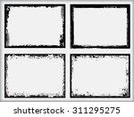 grunge frame.grunge background...   Shutterstock .eps vector #311295275